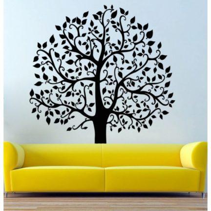 Seinakleebis Suur puu must