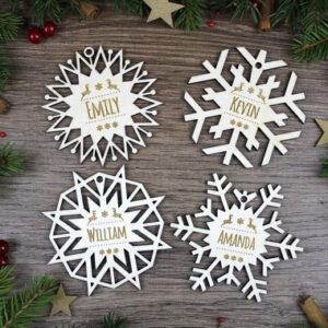 personaliseeritavad_joulukaunistused_lumehelbed_jouludekoratsioonid