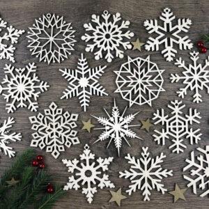 puidust_lumehelbed_jõulukaunistused_kuuseehted