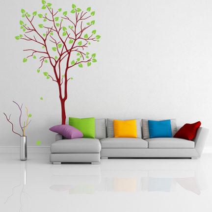 Värviline seinakleebis