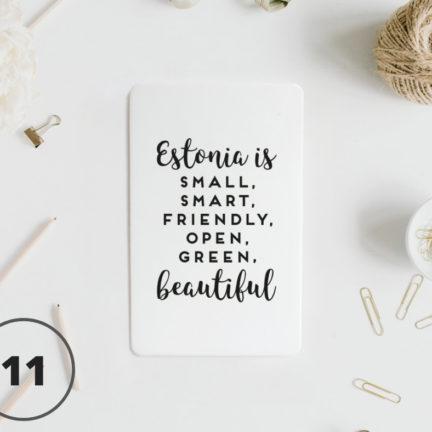 11 - Estonia is beautiful