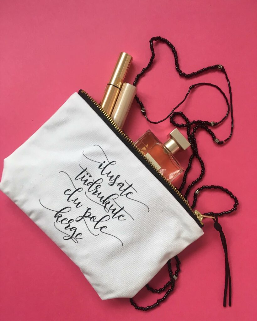 hea_Sõnumiga_kosmeetikakott_kosmeetikakottreisile